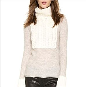 Tory Burch Gretchen Wool Turtleneck Sweater